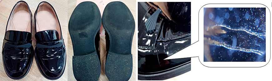 экспертиза туфель, экспертиза ботинок